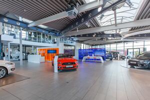 Standort Schwerin-Krebsförden  FordStore – Kia