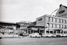 Immer moderner, immer größer: Der HUGO PFOHE Hauptbetrieb in der Barmbeker Straße 26-28