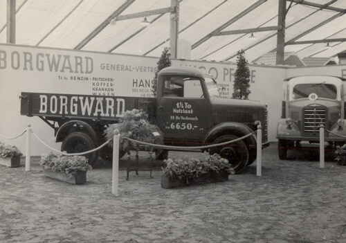 Borgward-LKW-Ausstellung