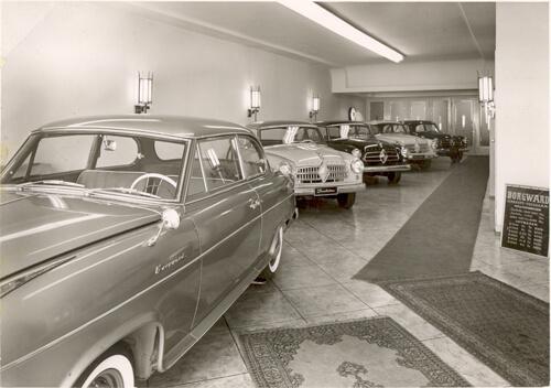 Borgward-Neuwagen-Auststellung