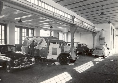 Borgward-Werkstatt