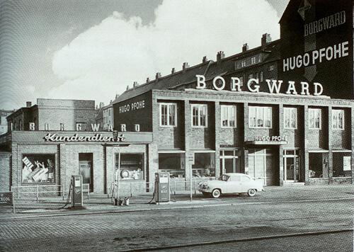 """Vom Wiederaufbau zum Wirtschaftswunder: """"Werk I"""" – der Hauptbetrieb in den 50er Jahren"""
