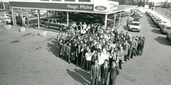 """""""grüne Wiese"""" wird zum Hauptsitz von HUGO PFOHE"""