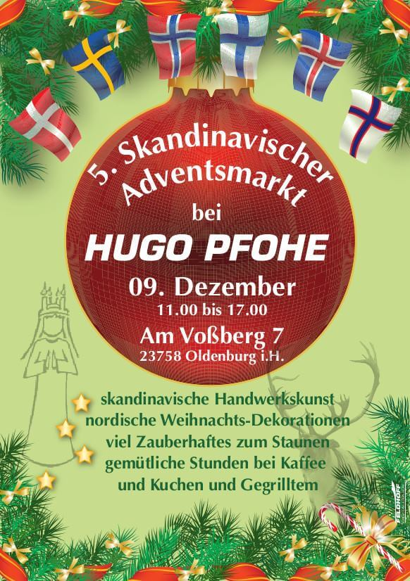 5. skandinavischer Adventsmarkt in Oldenburg