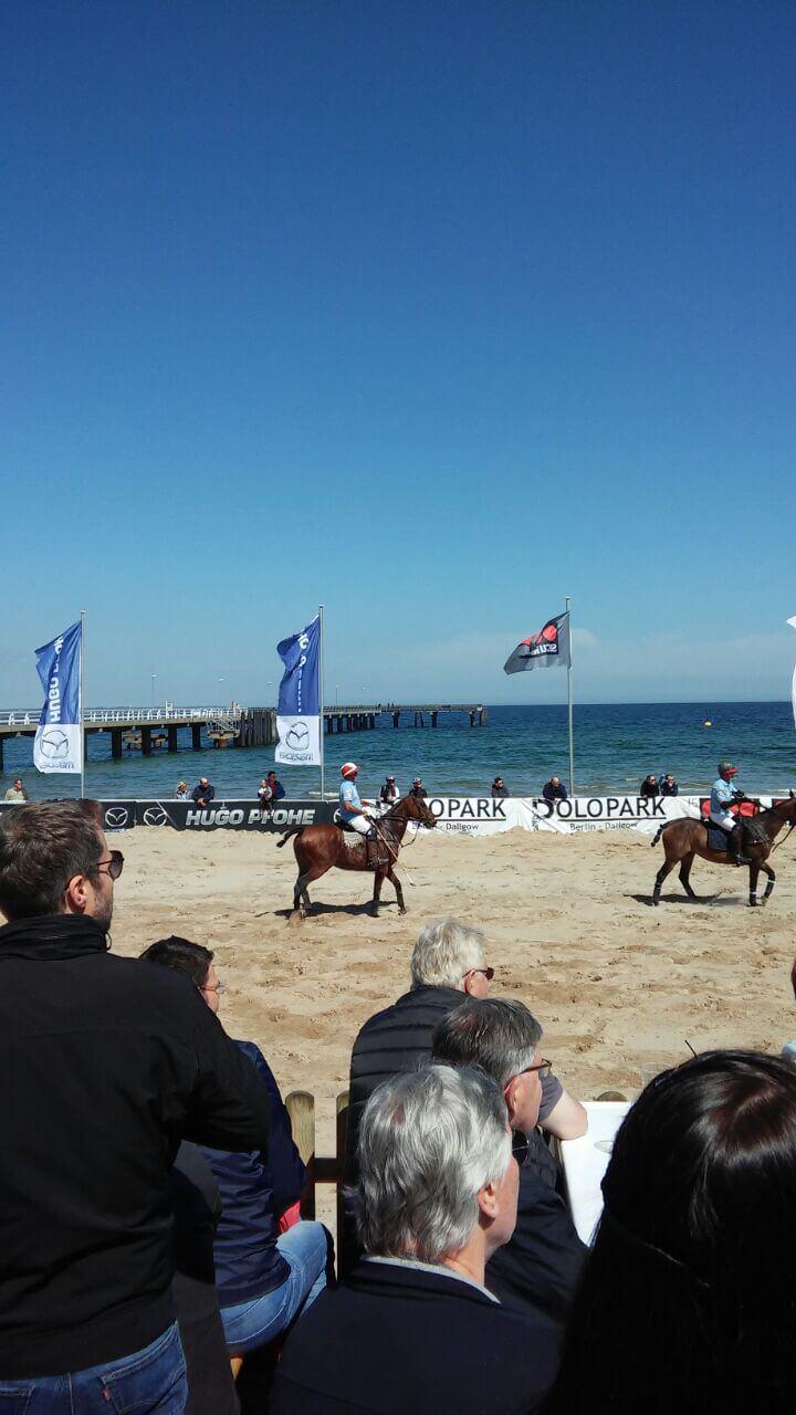 Beach Polo Meisterschaften am Timmendorfer Strand