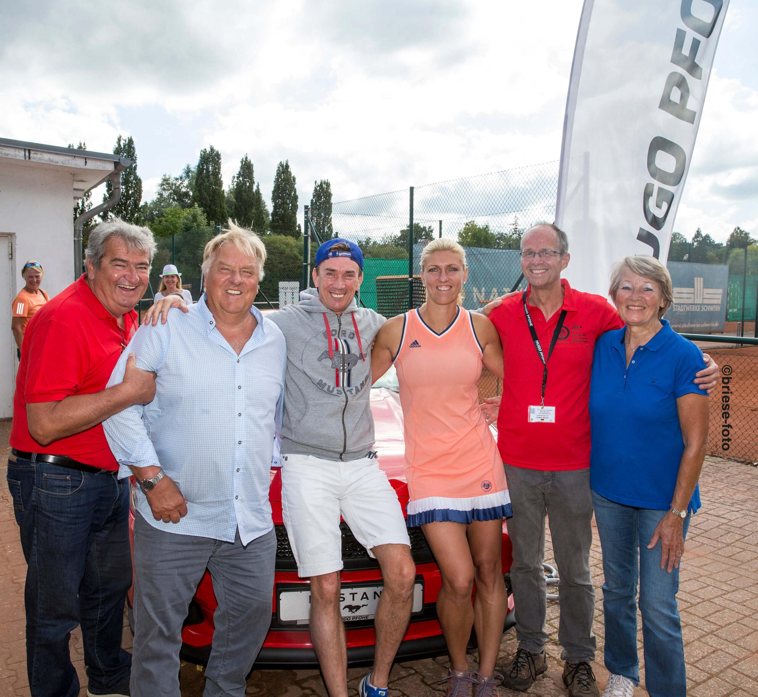 25. ITF Tennis-Turnier in Schwerin