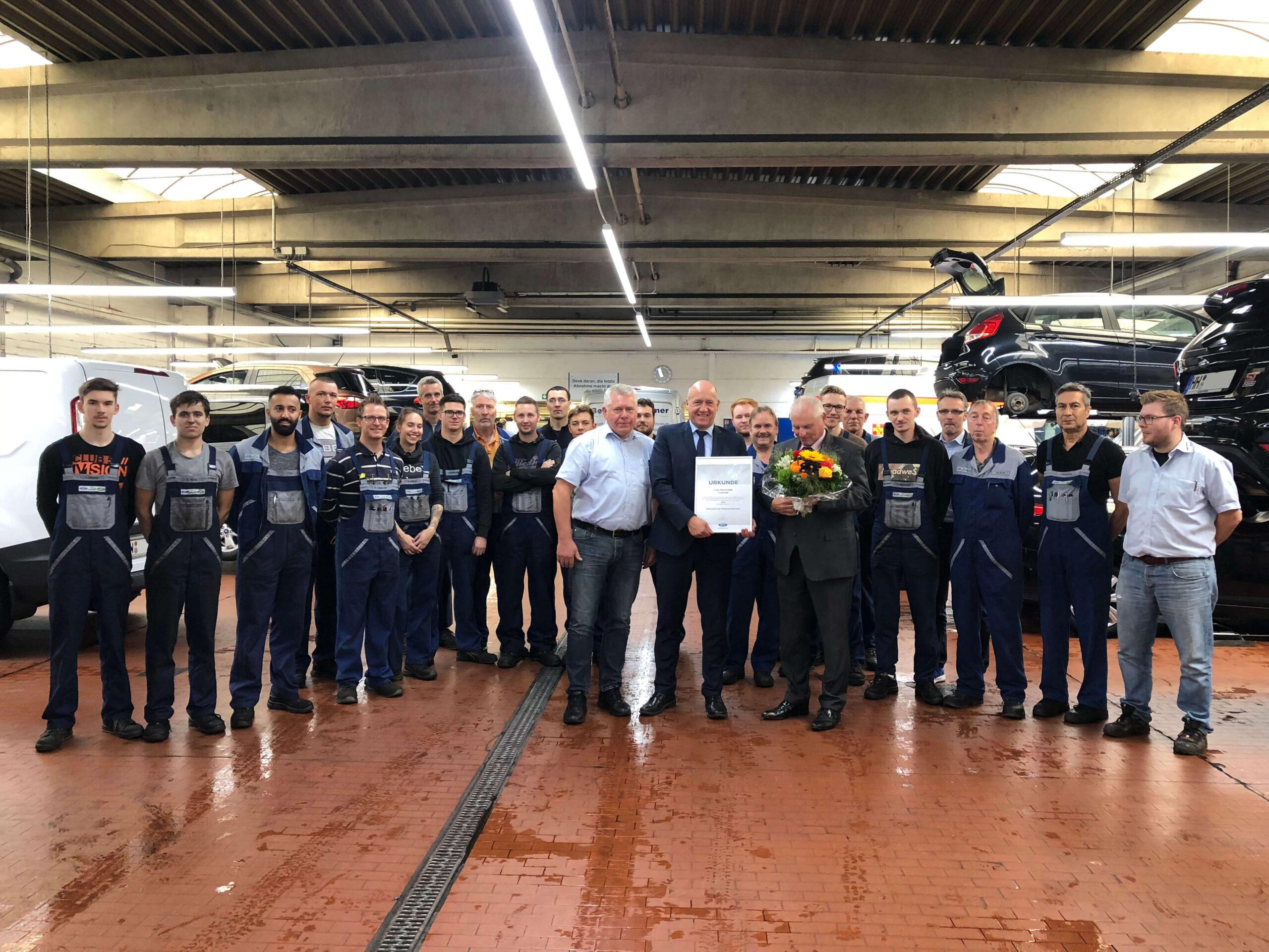 Hamburg-Fuhlsbüttel erneut Ford Service Premium Partner