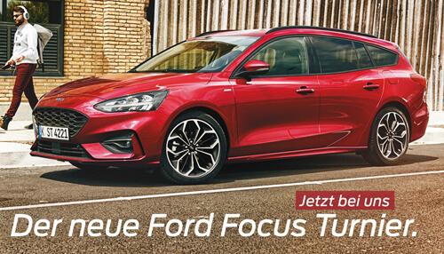 Premiere des neuen Ford Focus Turnier