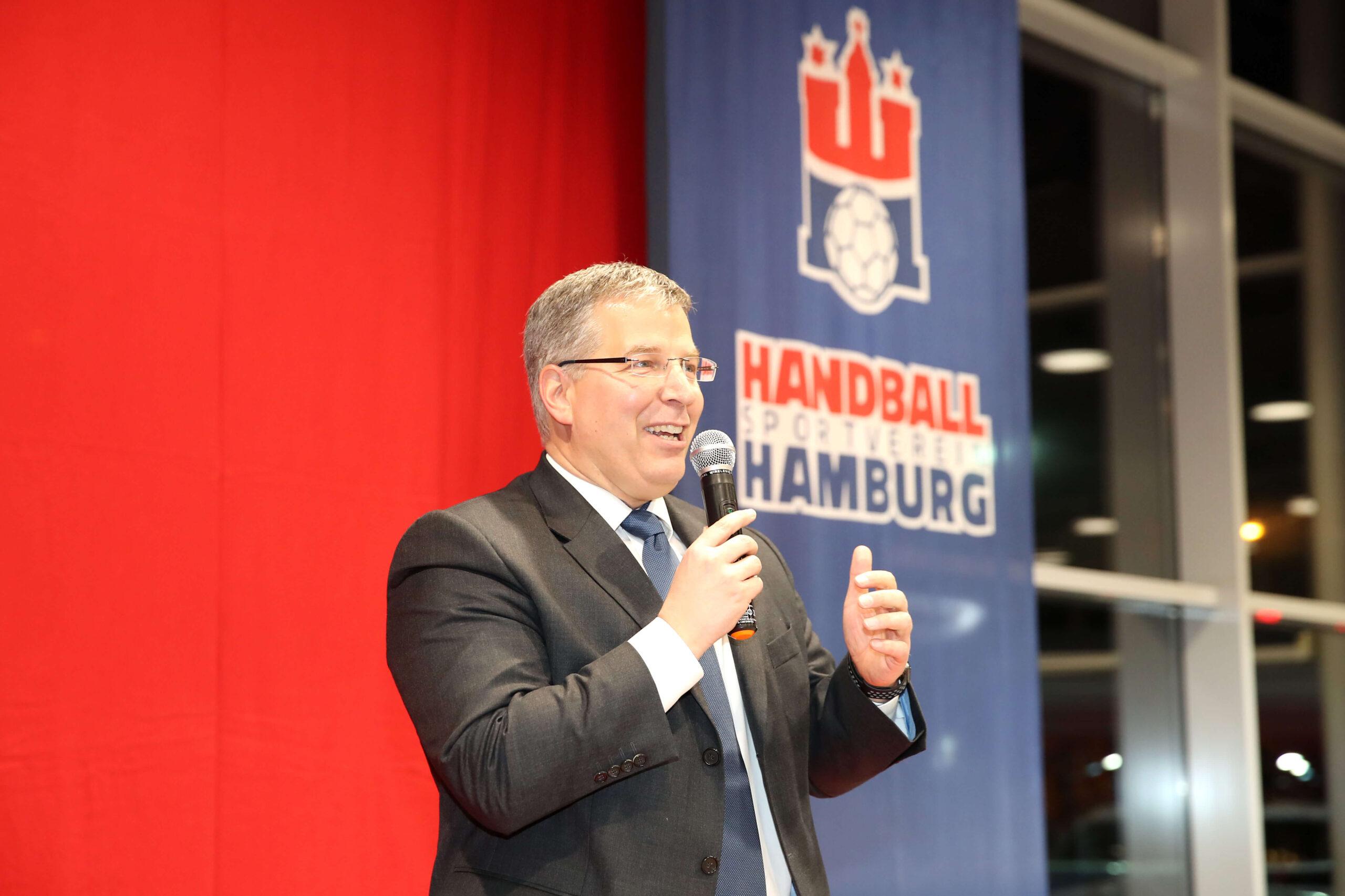 Sponsorenabend des Handball Sport Verein im FordStore in Hamburg-Fuhlsbüttel