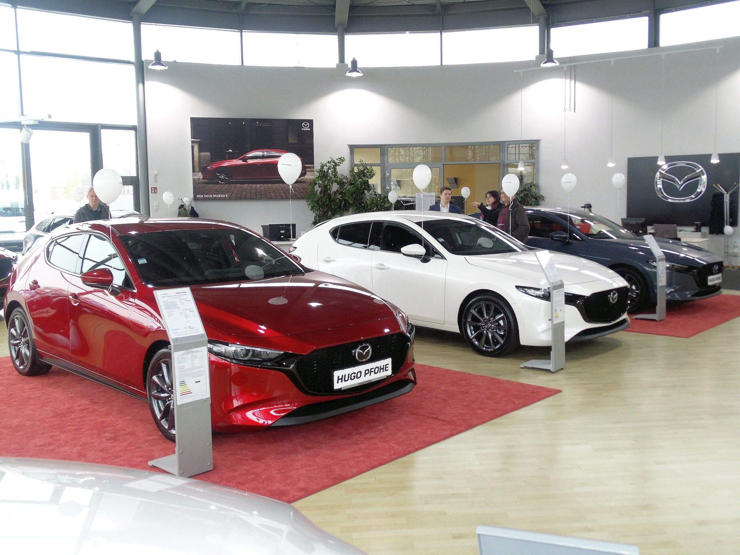 Premiere des Mazda 3 - Rückblick