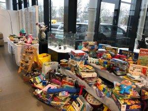 Tafel Spielzeug Spenden